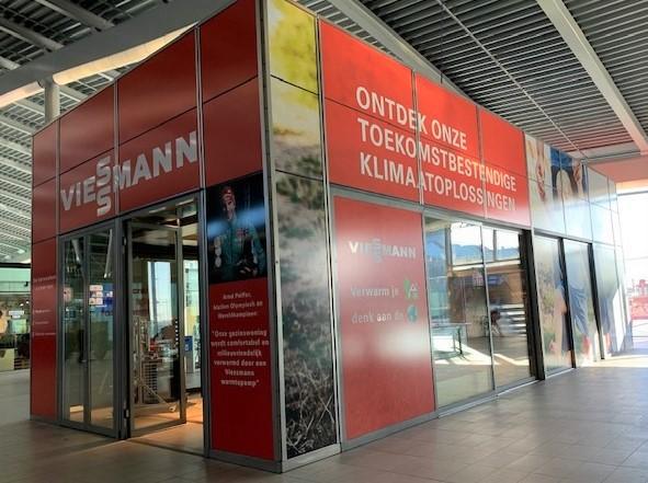 Viessmann kijkt terug op succesvolle Pop-up Store op CS  Utrecht